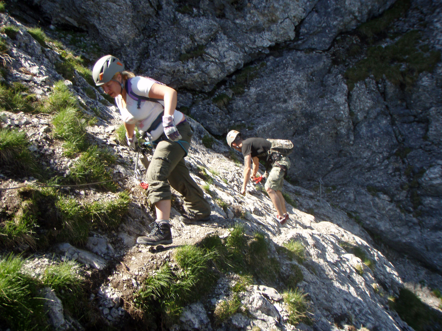 Klettersteig Chäligang : Klettersteig chäligang adelboden
