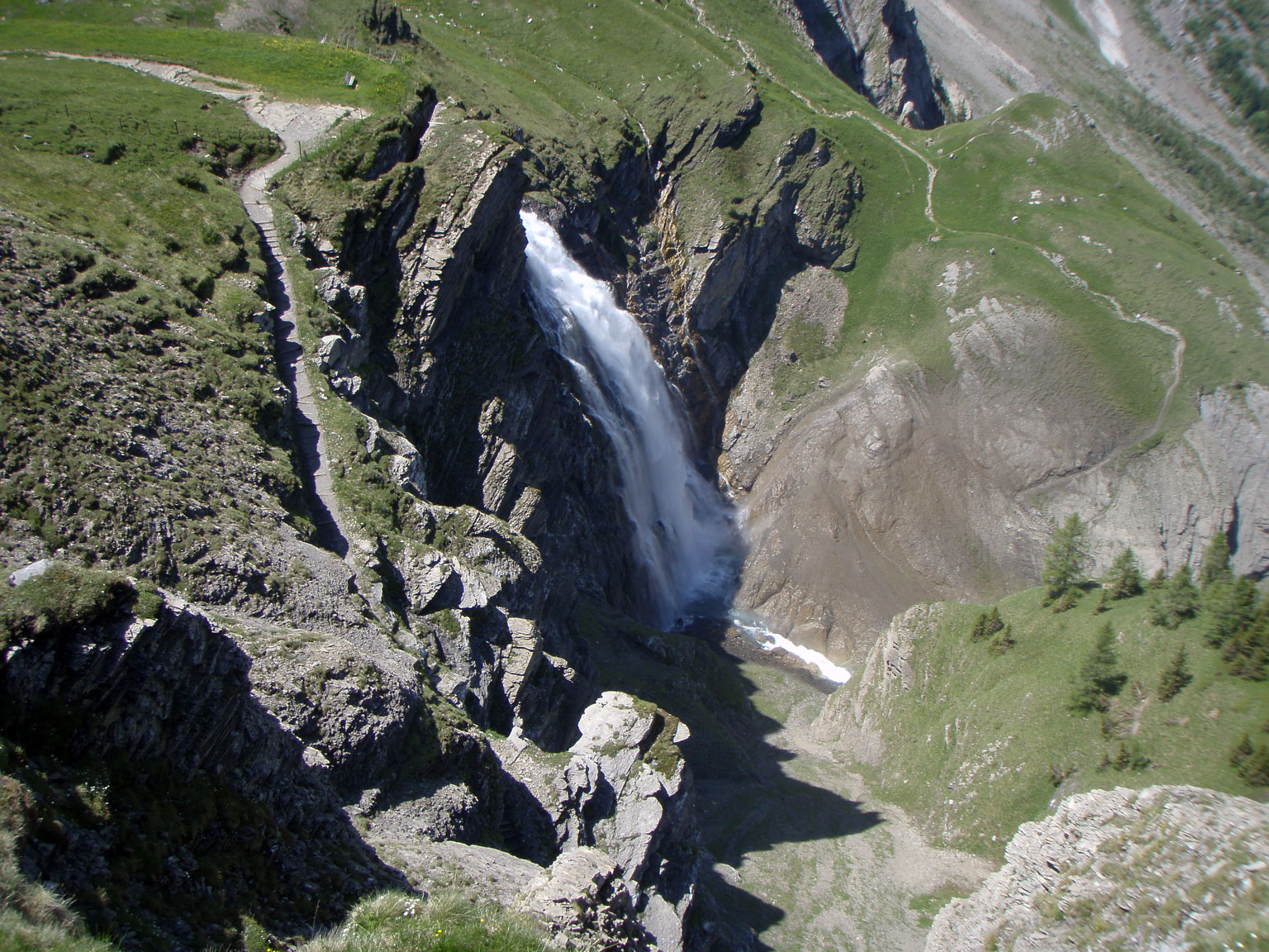 Klettersteig Adelboden : Klettersteig chäligang adelboden 19.06.2012