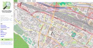 Karte von OpenStreetMap