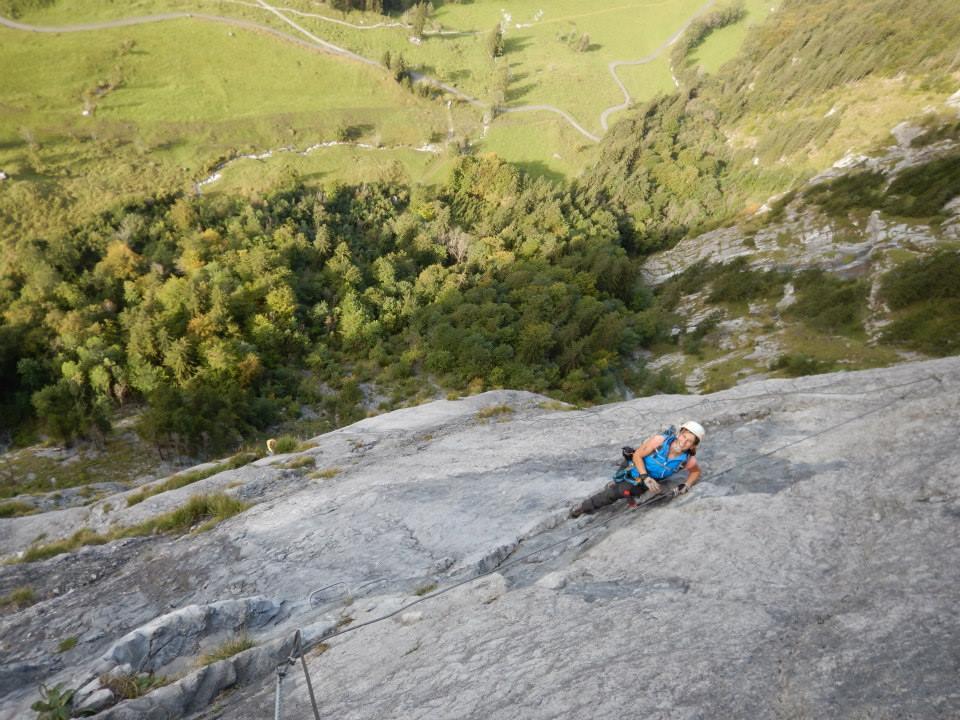 Klettersteig Ostschweiz : Klettersteig daubenhorn längster der schweiz bild