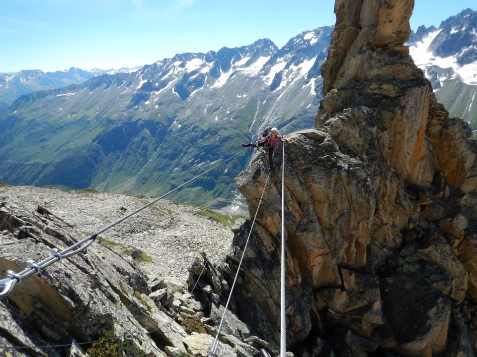 Klettersteigset Schweiz : Geocaching in der schweiz