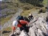 Pancho und lena81 beim Aufstieg