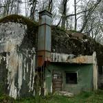 Bunkeranlage von Aussen