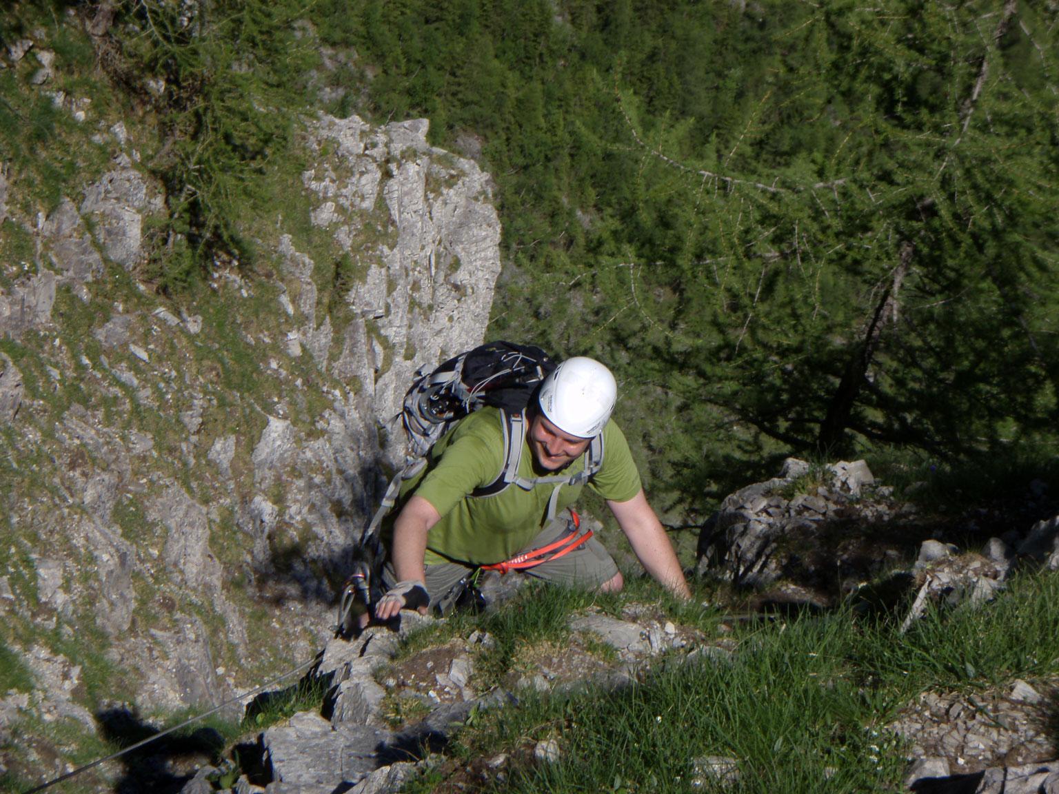 Klettersteig Adelboden : Klettersteig chäligang adelboden